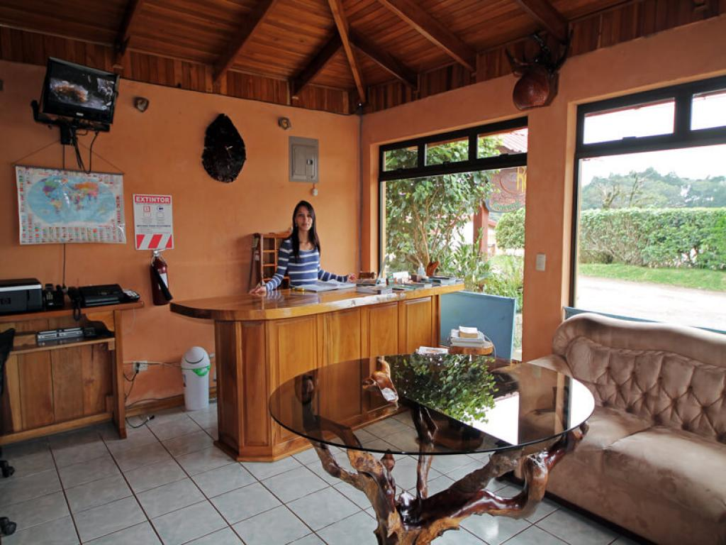 Reception Rustic Lodge