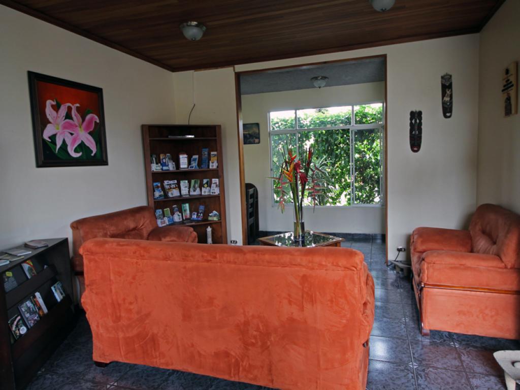 San Bosco Inn Reception Area