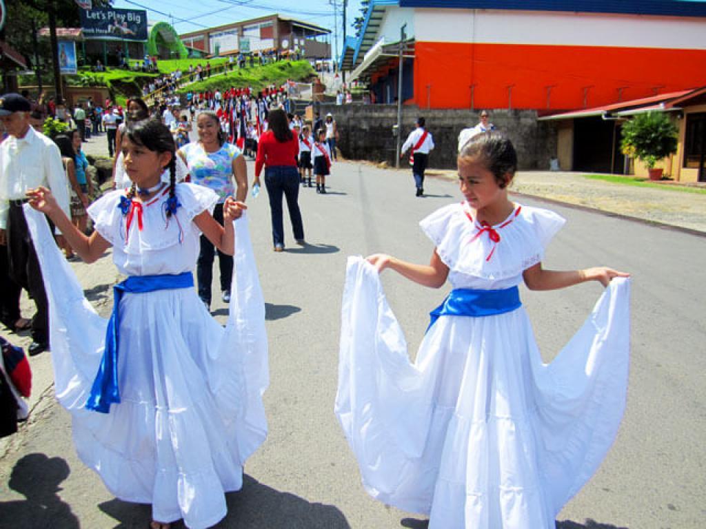 School Children Costa Rica