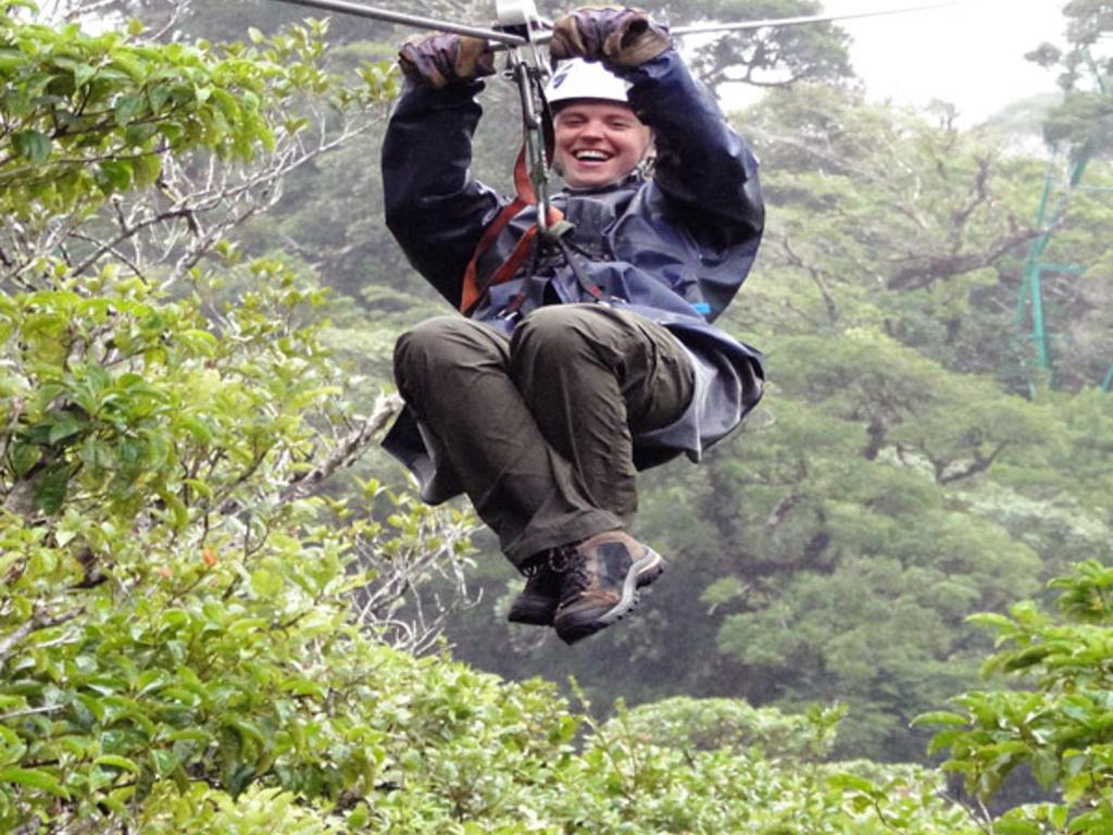 Zipline Canopy Tour Monteverde