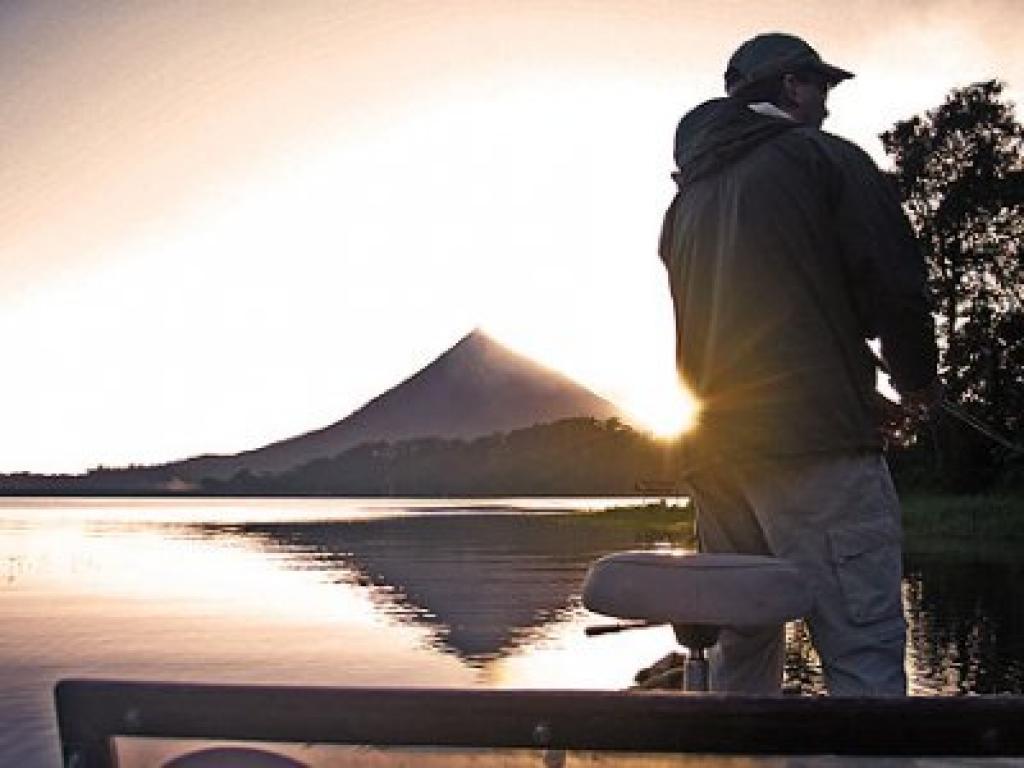 Sport Fishing Arenal Lake