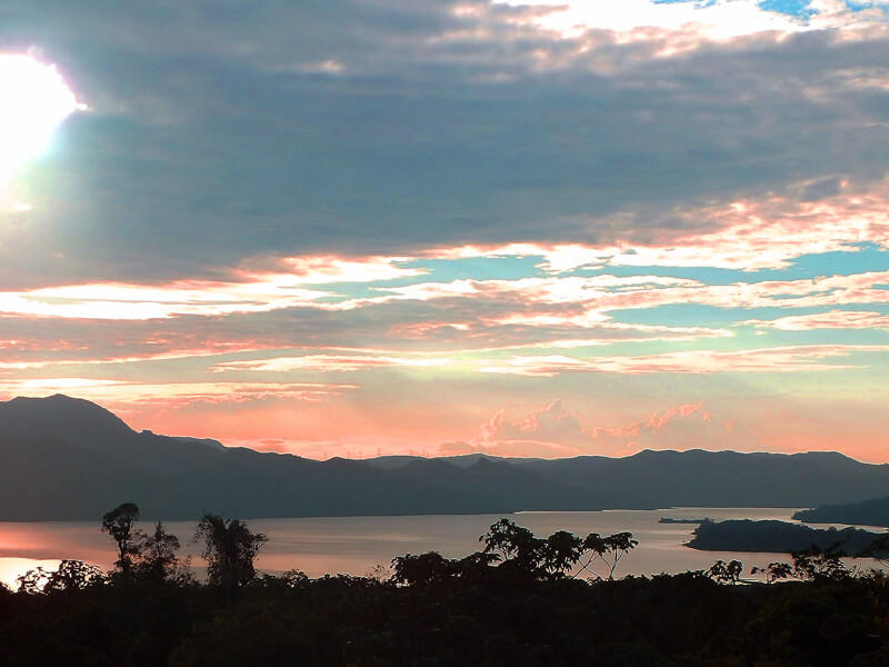 Sunset View from Arenal National Park