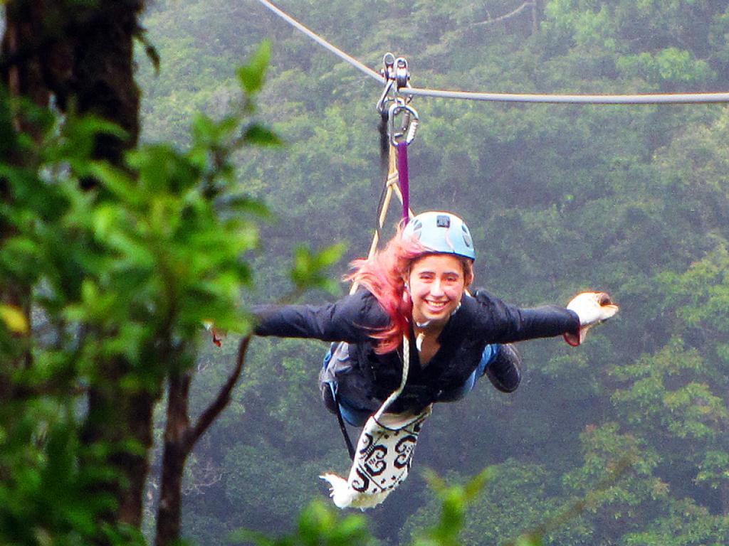 Superman Extremo Ziplines Costa Rica