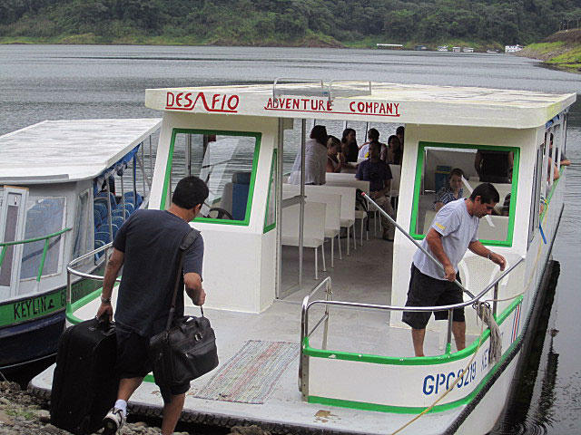 Transport from Monteverde to Arenal by Taxi Boat Taxi
