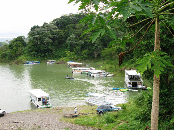 transport to arenal by taxi boat taxi