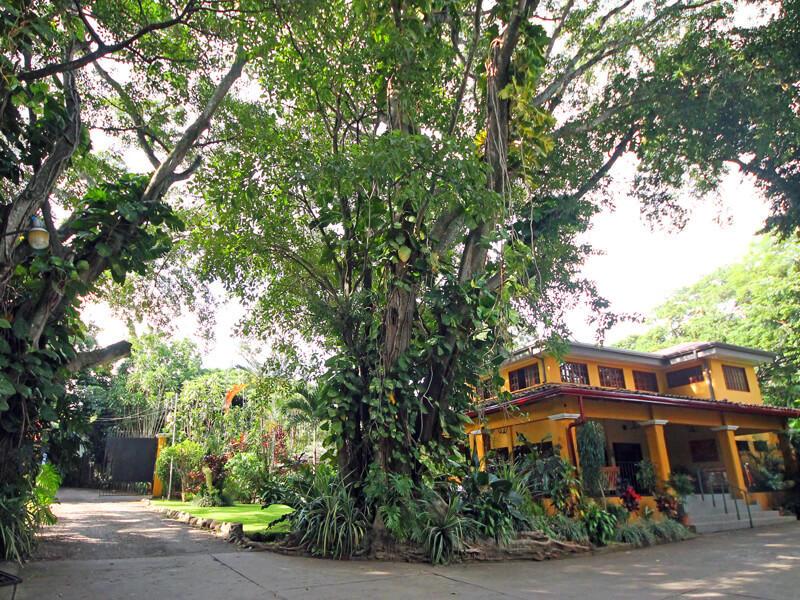 Entrance Trapp Family Country Inn San Jose Costa Rica