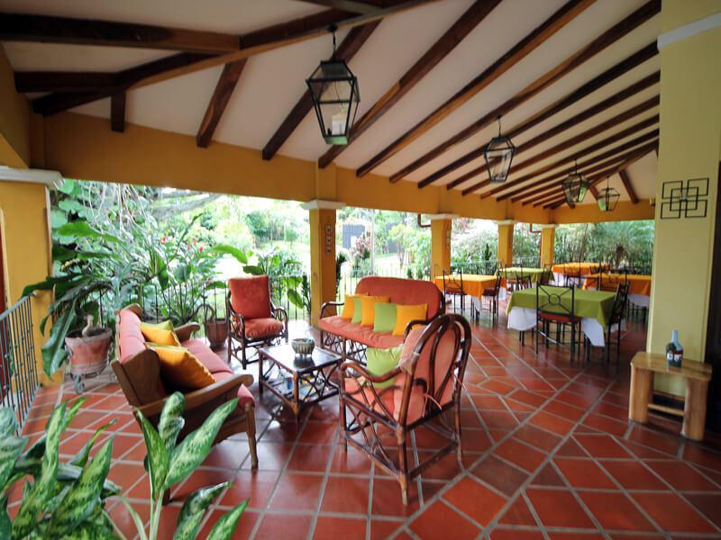 Reception Trapp Family Country Inn San Jose Costa Rica