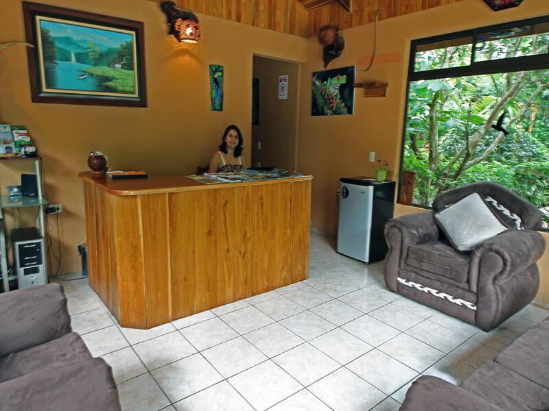 Reception at Monteverde Villa Lodge