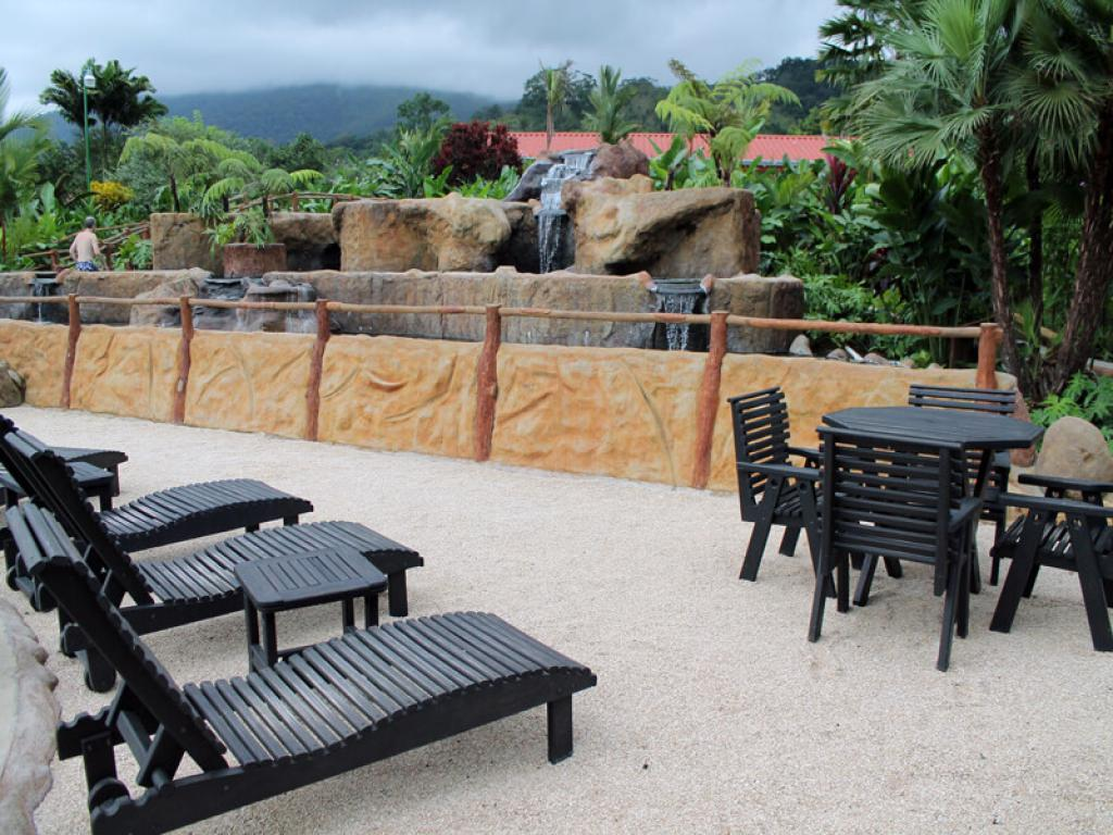 Hot Springs at Volcano Lodge
