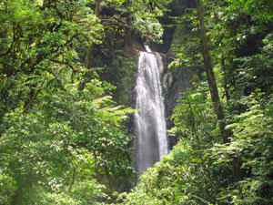 Costa Rica Horseback Riding Eden Falls
