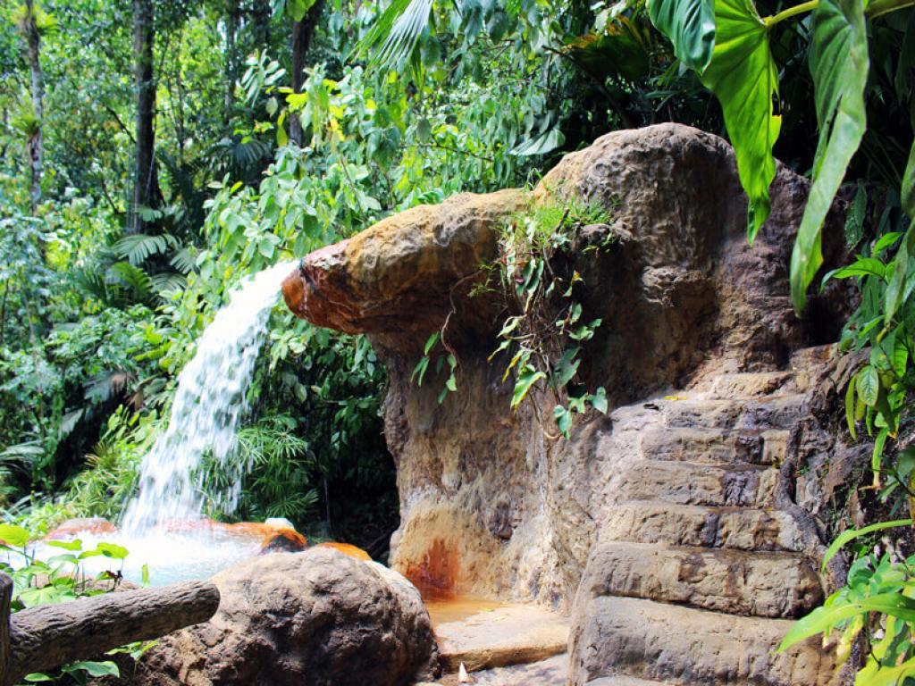 Waterfalls the Springs