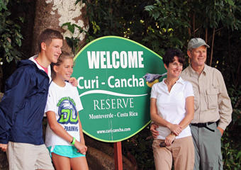 Curi Cancha Monteverde - Welcome