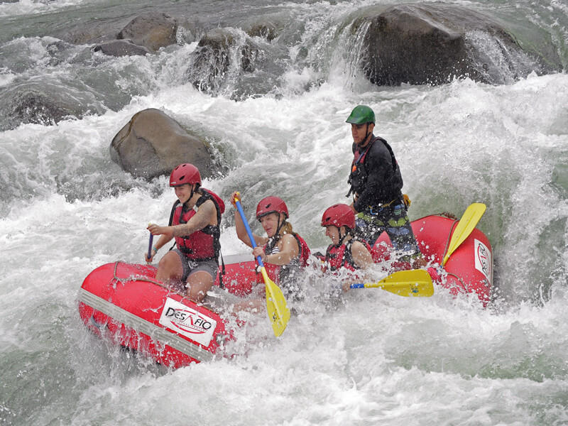 Rafting and Canyoning Mambo Combo Tour