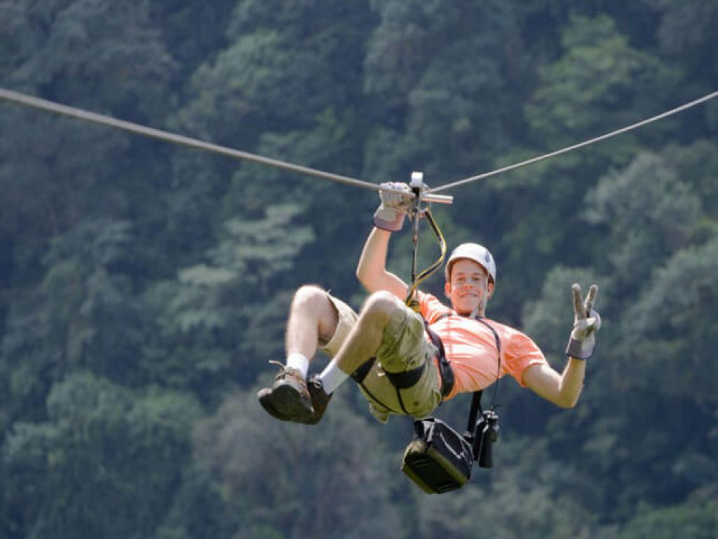 Zip Line Canopy Tours with Arenal Skytrek